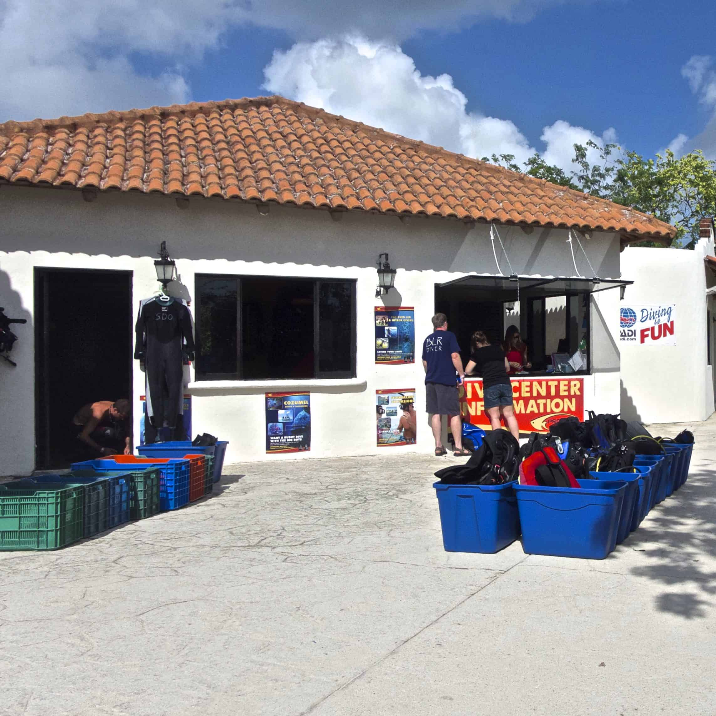 dive center occidental cozumel