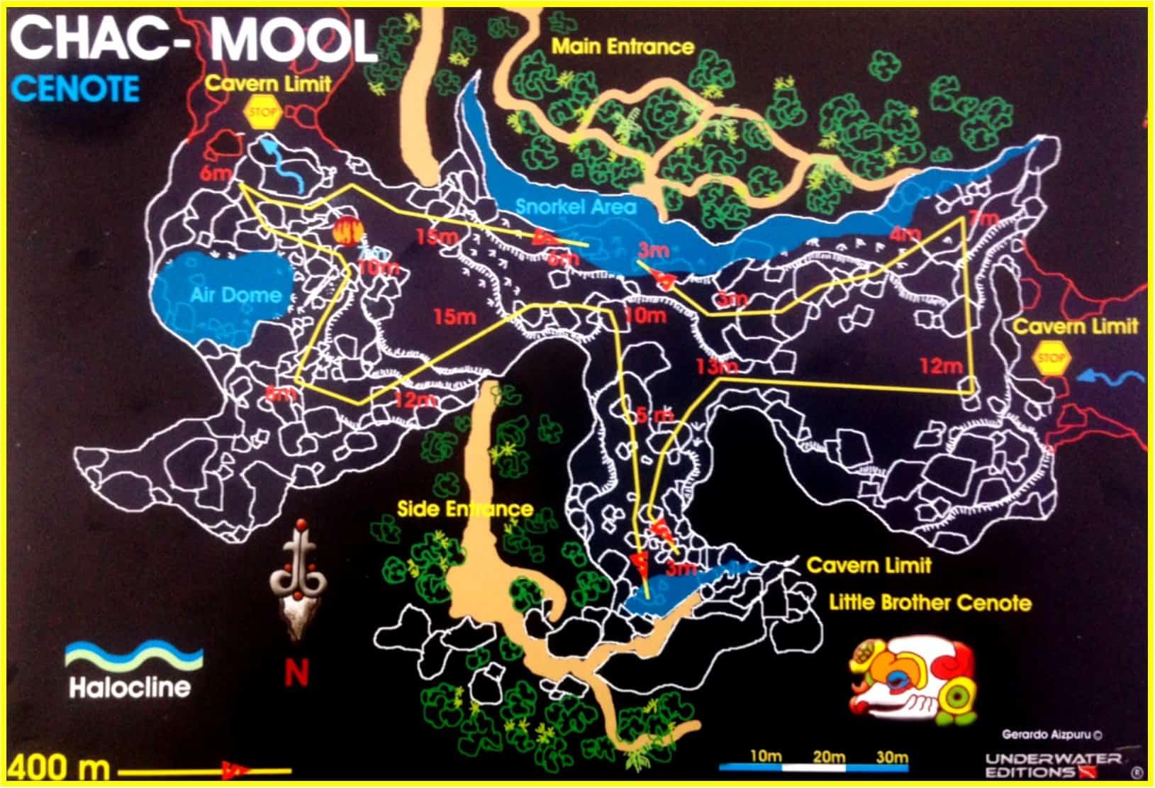 Cenote Chac Mool Pro Dive International