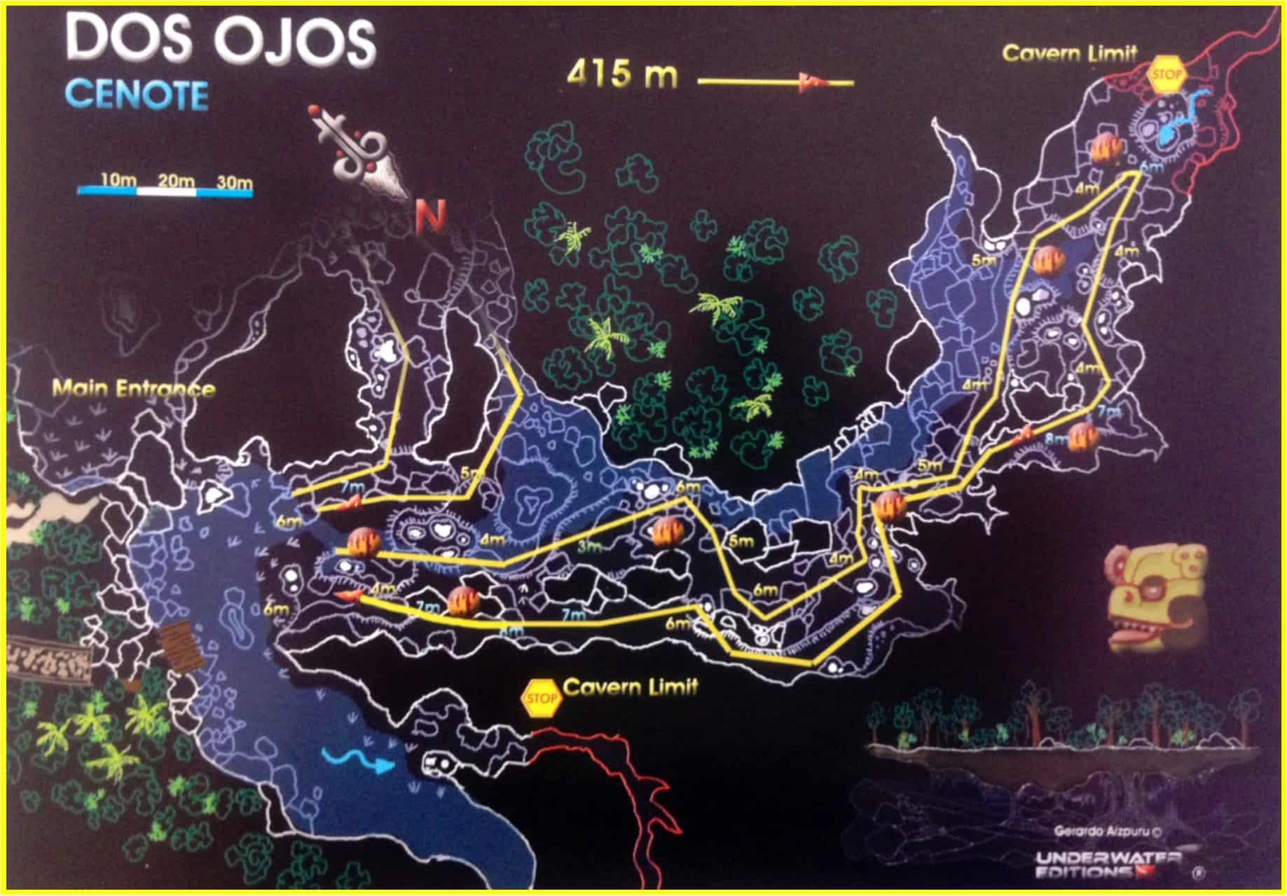 Cenote Dos Ojos Pro Dive International