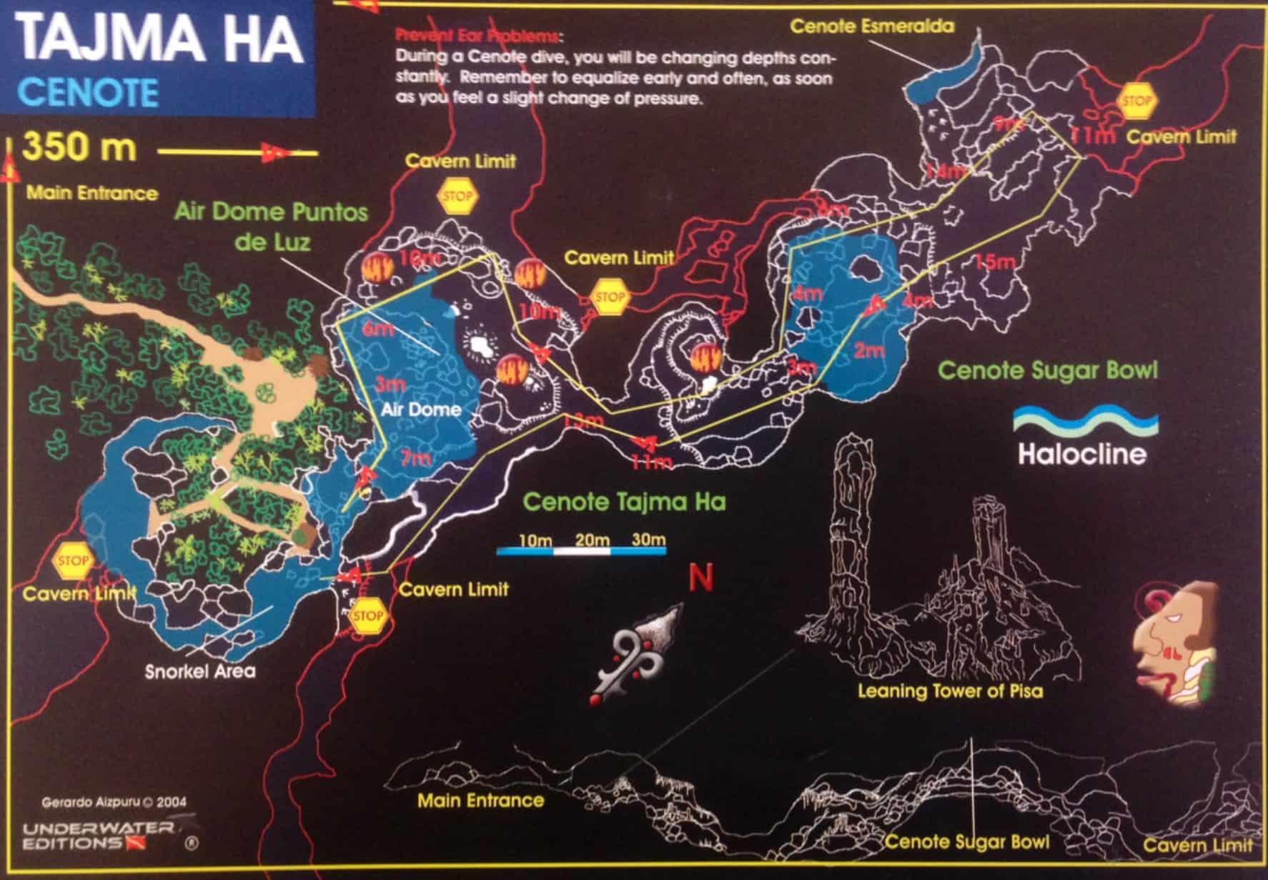 Cenote layout Tajma Hal