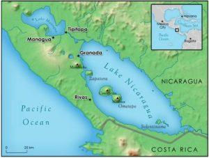 lake nicaragua areal